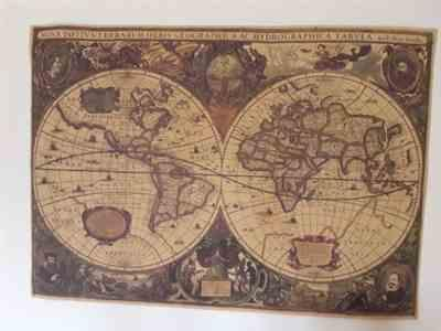 Pavacat Vintage Nautical World Map Poster Review