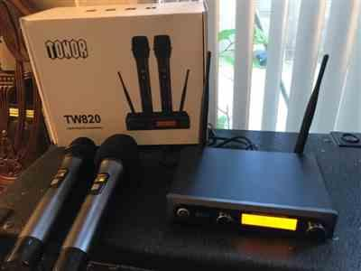 zonic verified customer review of TONOR TW-820 Dual Wireless Microphone