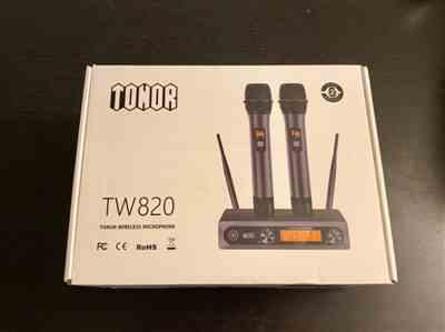 Esandi verified customer review of TONOR TW-820 Dual Wireless Microphone