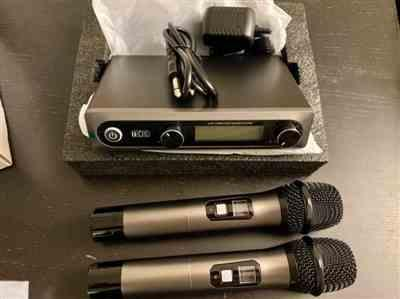 Tonor Microphone TONOR TW-820 Dual Wireless Microphone Review