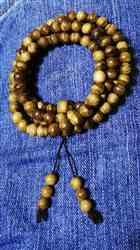 Anonymous verified customer review of Wild Agarwood mala 108 Malinau 18g 8mm with a large piece of remaining material