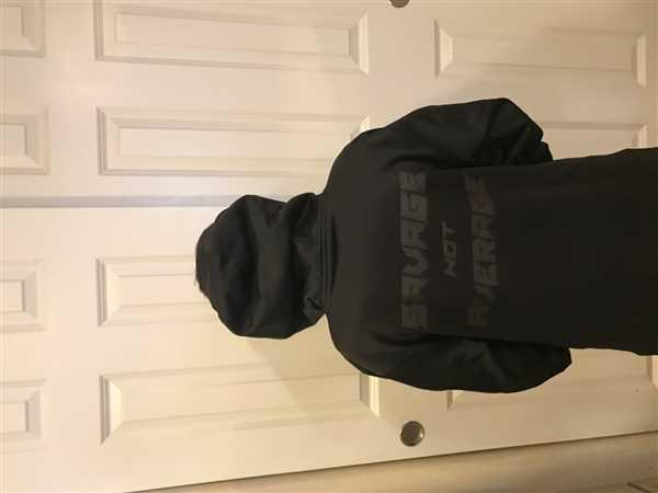 Niccole Graham verified customer review of BLACKOUT - Savage NOT Average Cotton Hoodie youth and adult