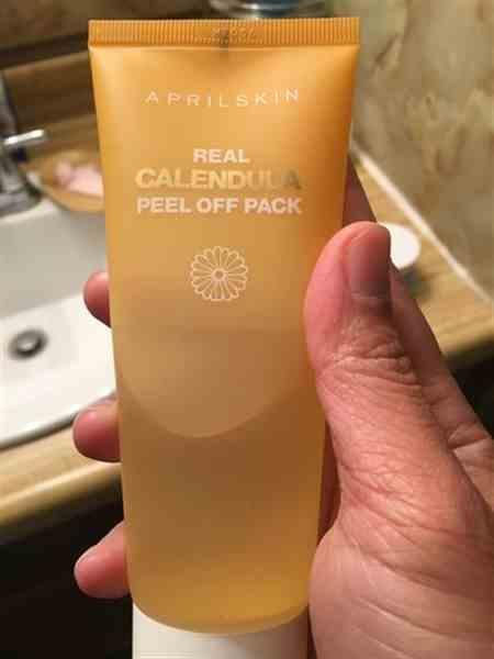 Ploynaun R. verified customer review of Calendula Peel Off Mask