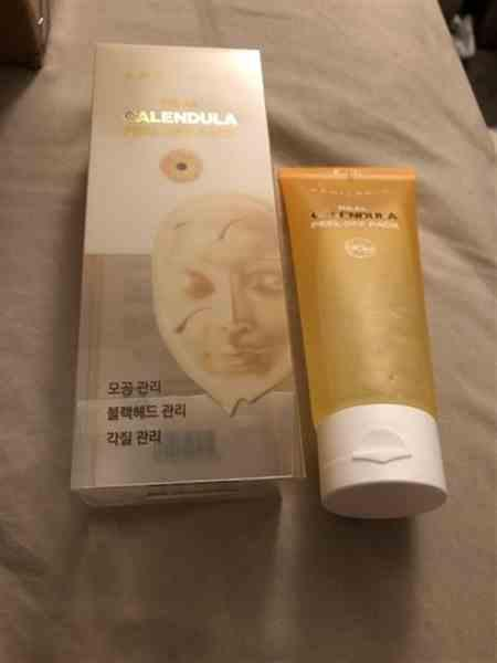 Ali X. verified customer review of Calendula Peel Off Mask