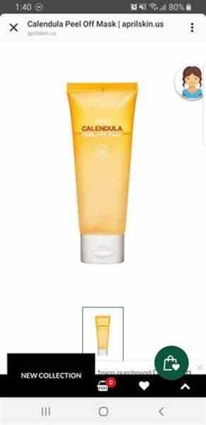 Karla M. verified customer review of Calendula Peel Off Mask