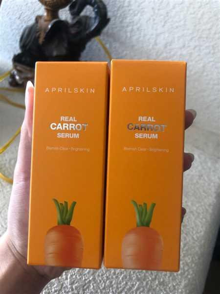 Kristy Nguyen verified customer review of Carrot Blemish Serum