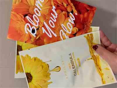 Luciana Winjono verified customer review of 3 Calendula Deep Essence Masks