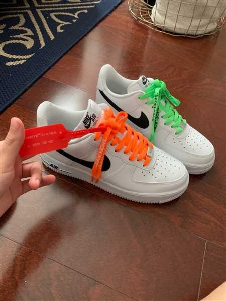 Shaliah Fricas verified customer review of Neon Orange Off-White Style SHOELACES