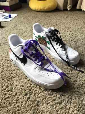 Jonathan W. verified customer review of Purple Off-White Style SHOELACES