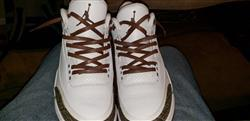 JUSTIN T. verified customer review of Brown Luxury Leather Laces - Gold Plated