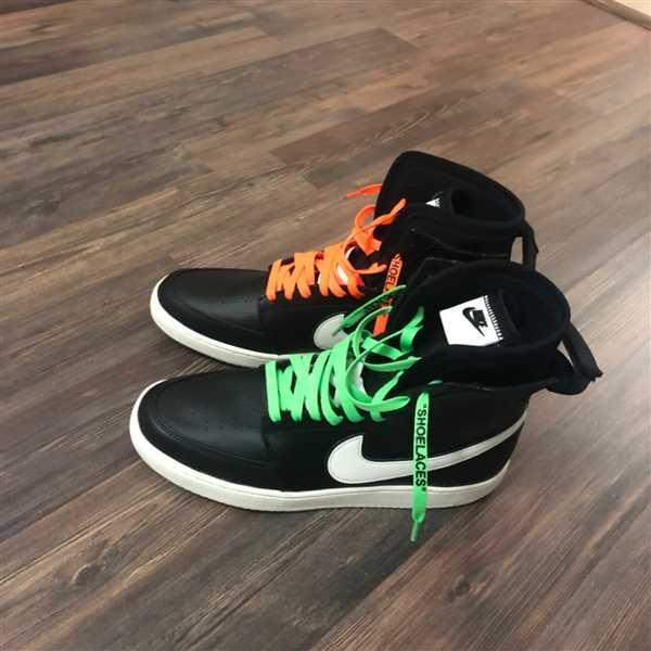 Nino Bar verified customer review of Neon Orange/Black Off-White Style SHOELACES