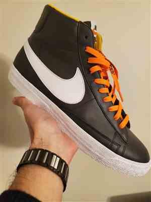 Mario Gonzalez verified customer review of Neon Orange/Black Off-White Style SHOELACES