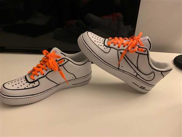 Jared Lee verified customer review of Neon Orange/Black Off-White Style SHOELACES