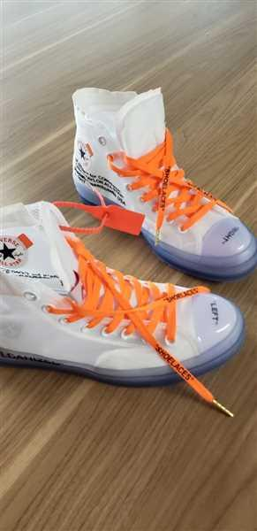 Lace Lab Neon Orange/Black Off-White Style SHOELACES Review