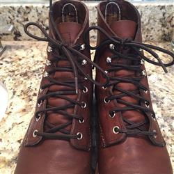 Andrew L. verified customer review of Black/Brown Boot Laces