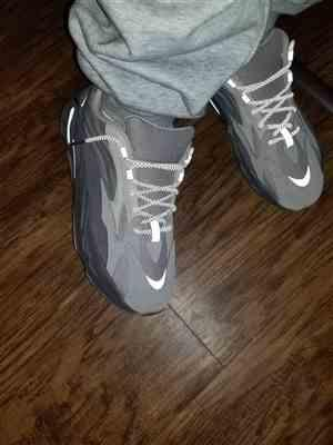 Donald W. verified customer review of Charcoal 3M Inverse Rope Laces