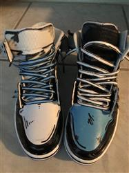 Marcus M. verified customer review of University Blue Luxury Leather Laces - Silver Plated