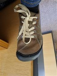Kim S. verified customer review of Beige Shoe Laces