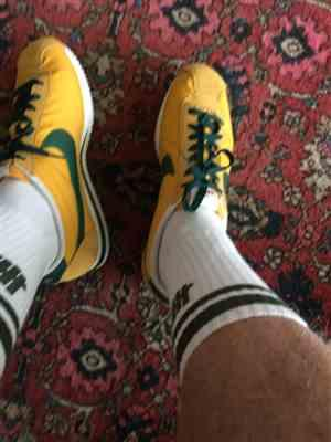 Michael Shuck verified customer review of Dark Green Shoe Laces