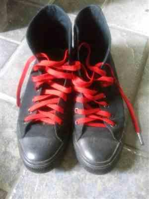 Rich R. verified customer review of Red Shoe Laces