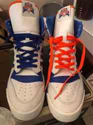 Eric C. verified customer review of Royal Blue Shoe Laces