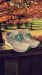 Brayden D. verified customer review of Green/White Rope Laces