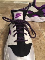 Jonathan G. verified customer review of Purple/Black Rope Laces