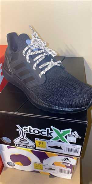 Fernando Ortiz verified customer review of Black 3M Reflective Rope Laces