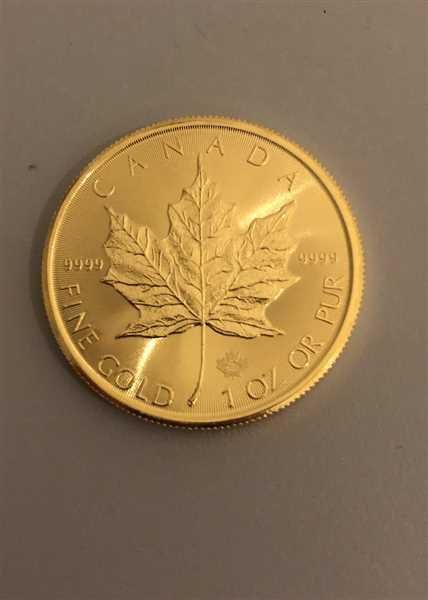 Bitgild 1 oz Maple Leaf 2020 Gold Coin Review
