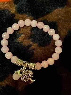 Kathya verified customer review of Bracelet Arbre de vie en Quartz rose