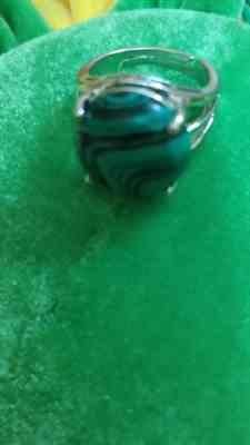 Lou verified customer review of Bague en Malachite