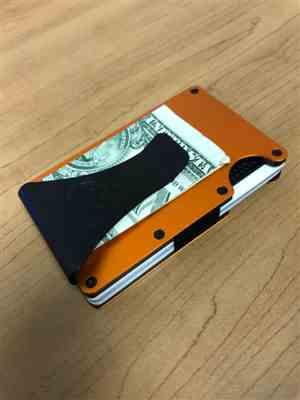 Armour Supply Co.  Armour Wallet | Orange Review