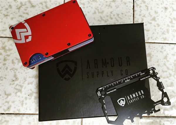 Armour Supply Co.  Armour Wallet | Red Review