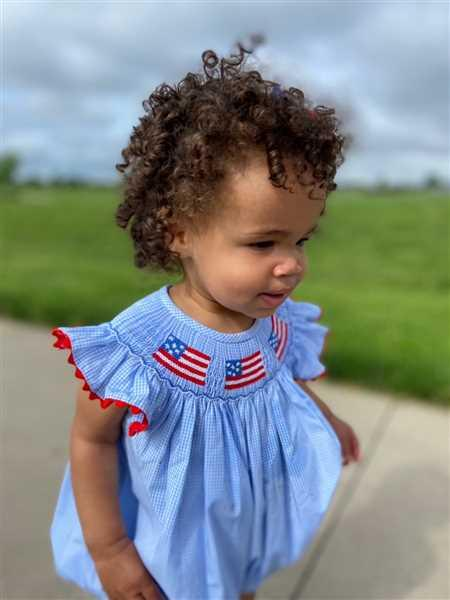 Stitchy Fish Salute The Flag Smocked Bubble Review