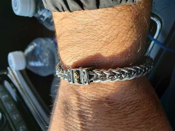 Silver Phantom Jewelry Woven Leather Bracelet Review