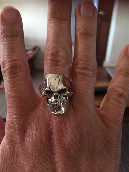 Silver Phantom Jewelry Weathered Stone Ring Review