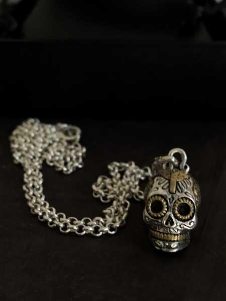 Connor Hoskins verified customer review of Small Calavera Skull Necklace