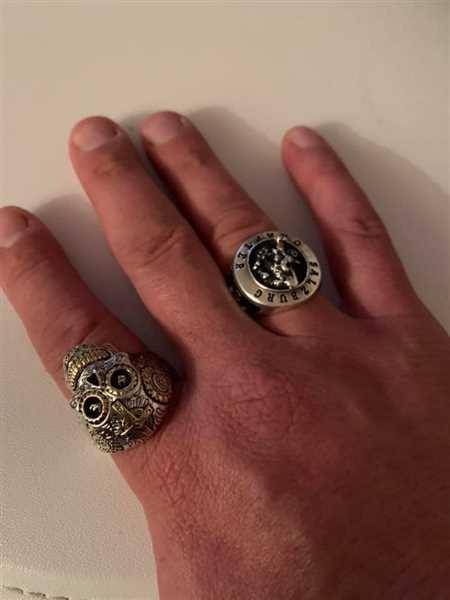 Sören Guth verified customer review of Sacramental Skull Ring