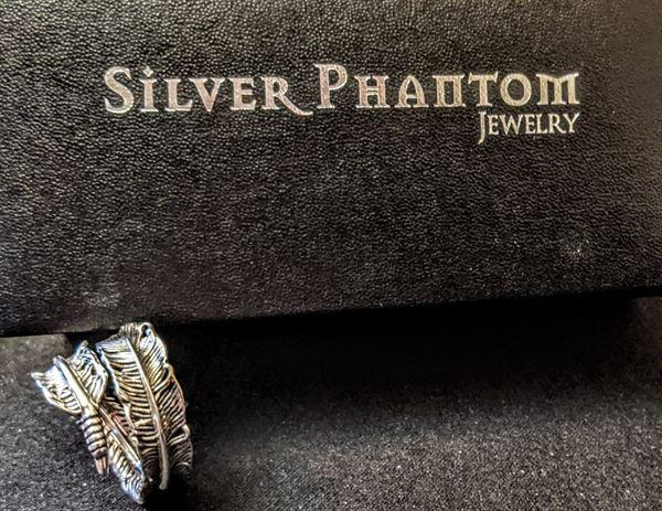 Silver Phantom Jewelry Feather Ring Review