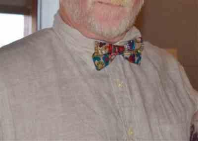 jacinta nelson verified customer review of Dashing Red And Blue Paisley Bow Tie