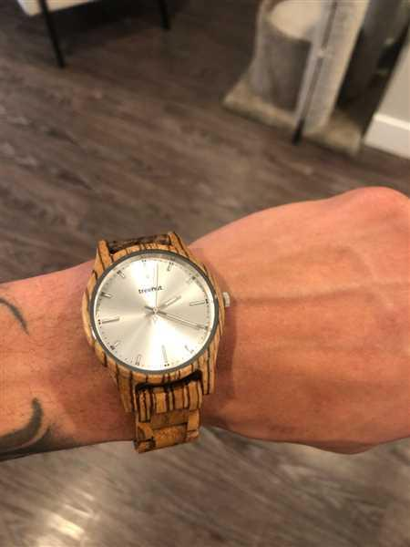 Korey Thieleke verified customer review of Dubline Zebrawood Silver