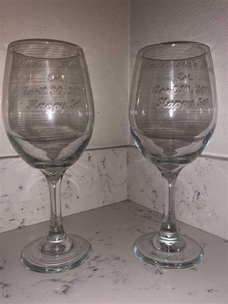 jD King verified customer review of Wine Glasses | Your Text Here