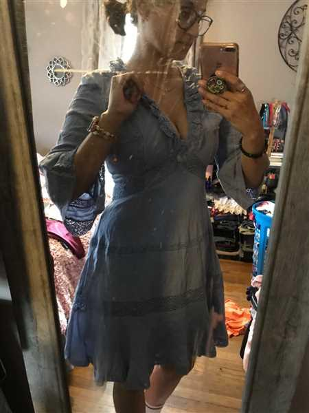 Baltic Born Sydney Boho Dress in Periwinkle- FINAL SALE Review