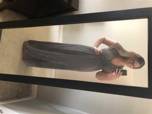 Baltic Born Athena Pewter Pleated Maxi Dress Review