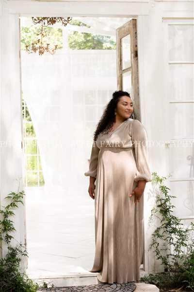 Baltic Born Venus Gold Pleated Maxi Dress Review
