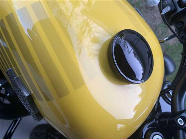 Lowbrow Customs Screw-In Harley Stock Style Vented Gas Cap - 1996 & up - Black Review