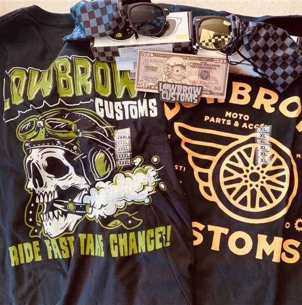 Lowbrow Customs Ride Fast Take Chances T-Shirt Review