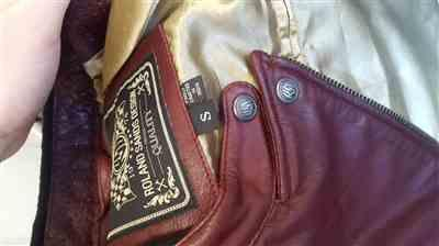 Sarah W. verified customer review of Roland Sands Design Riot Oxblood Ladies Leather Jacket