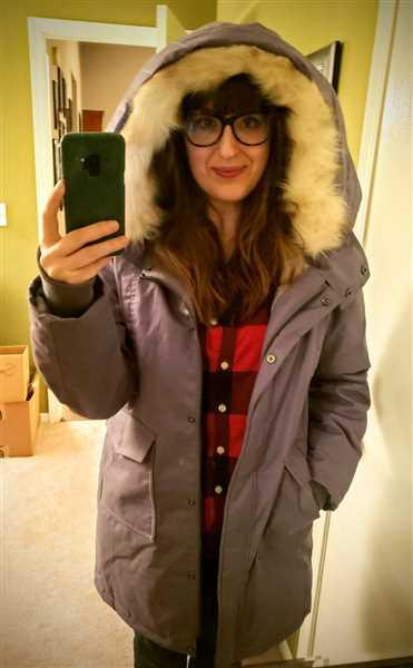Sarah Owen verified customer review of Fur Collar Parka