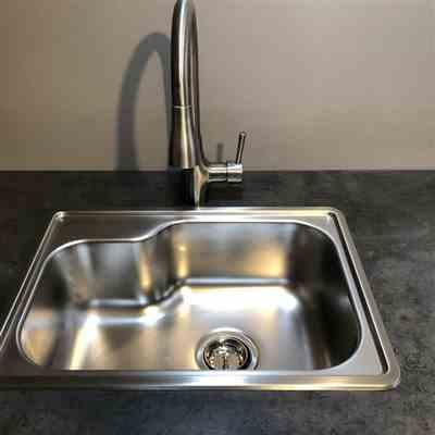 Kelly  verified customer review of Noah's Collection 22 Brushed Stainless Steel Single Bowl Drop-in Sink